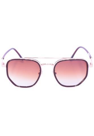Óculos de Sol 99 Óculos Quadrado Marrom