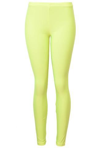 Legging American Apparel Neon Amarela