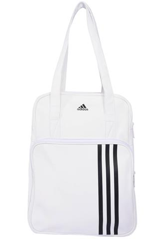 Bolsa Adidas Listras Branca