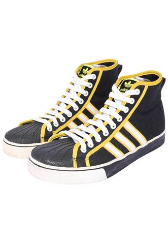 Tênis Adidas NZA Preto/Amarelo/Branco