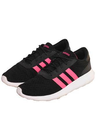 Tênis Adidas Tiras Preto