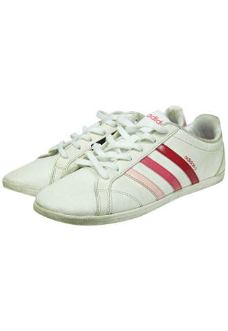 Tênis Adidas Neo Label Branco/Rosa