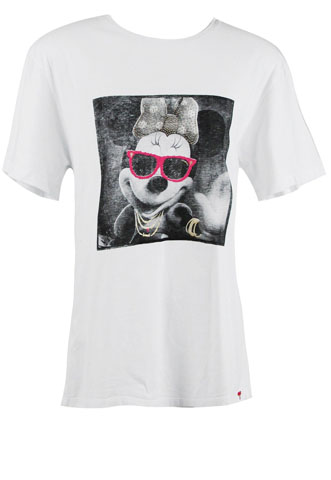 Camiseta Água de Coco Disney Branca