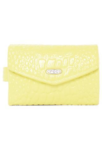 Carteira Crocs Neon Amarela