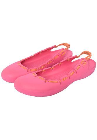 Sapatilha Crocs Cordão Rosa