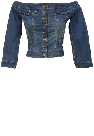Blusa Jeans Carmim Lisa Azul