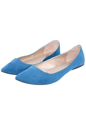 Sapatilha Charlotte Russe Suede Azul