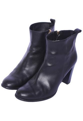 Bota Cyrillus Ankle Preta