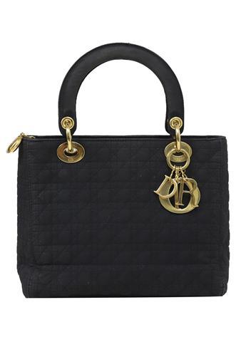 Bolsa Lady Di Dior Preta