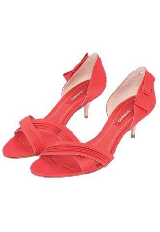 Sandália Dumond Laço Vermelha
