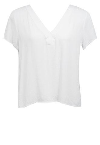 Blusa Dudalina Decote Branca