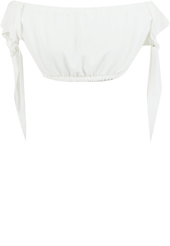 Blusa Farm Ciganinha Off White