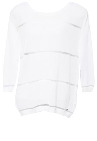 Blusa 7 For All Mankind Tricô Off White