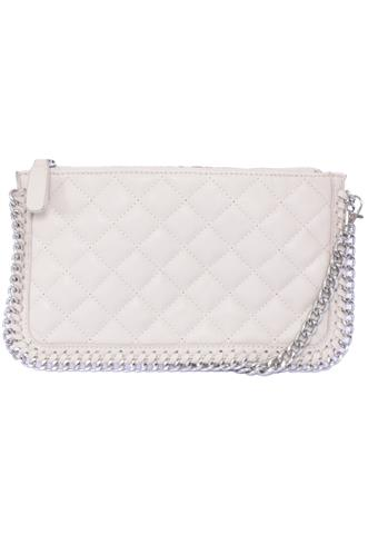 Clutch Forever 21 Corrente Bege