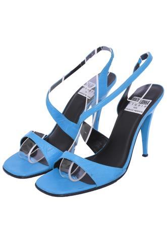 Sandália Grazia Donna Couro Azul