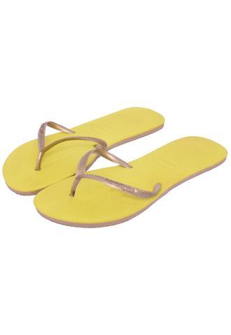 Chinelo Havaianas Liso Amarelo