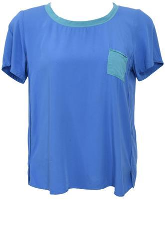 Blusa Hering Bolso Azul
