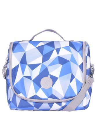 Bolsa Kipling Térmica Azul/Cinza
