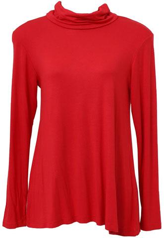 Blusa Lado Avesso Lisa Vermelha