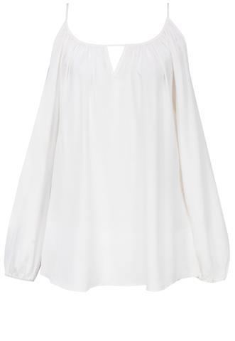 Blusa Le Lis Blanc Evasê Off White