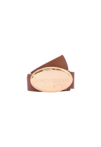 Cinto Lança Perfume Gold Washed Marrom