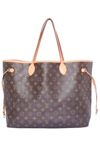 Bolsa Louis Vuitton Neverfull G Marrom