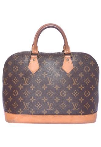 Bolsa Louis Vuitton Alma G Marrom