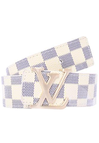Cinto Louis Vuitton Logo Off White