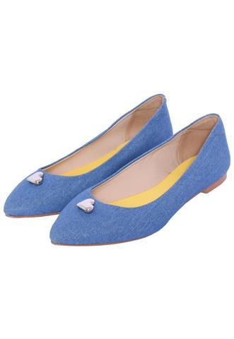 Sapatilha Margaux Jeans Azul