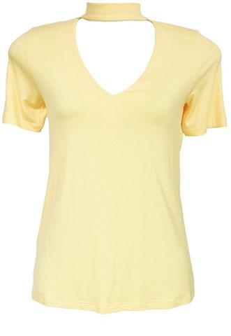 Blusa Mais Um Básica Amarela