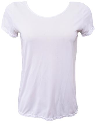 Blusa Memo Abertura Branca