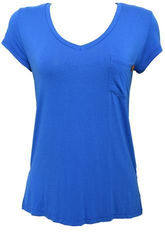 Blusa Miss Peck Bolso Azul