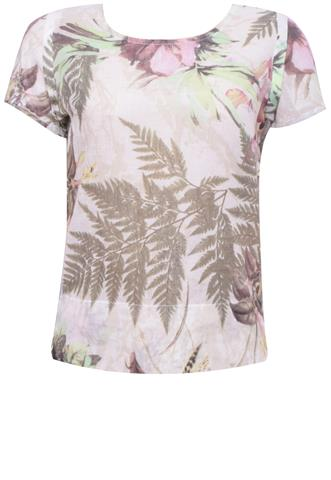 Blusa Miss Chilli Floral Off White