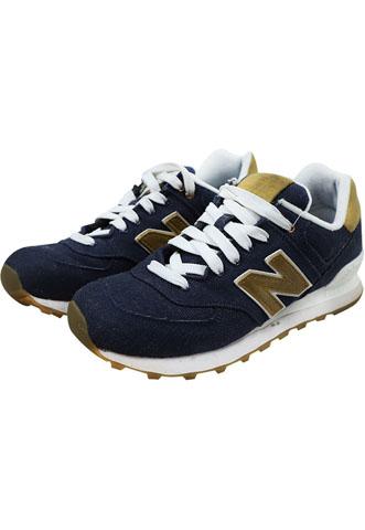 Tênis New Balance 574 Azul/Bege