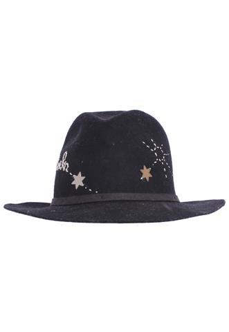 Chapéu Nath Hats Estrela Preto