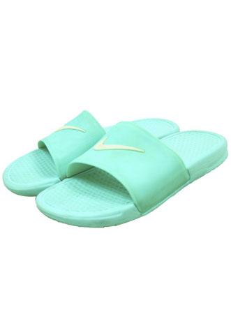 Chinelo Slide Nike Benassi Verde Água