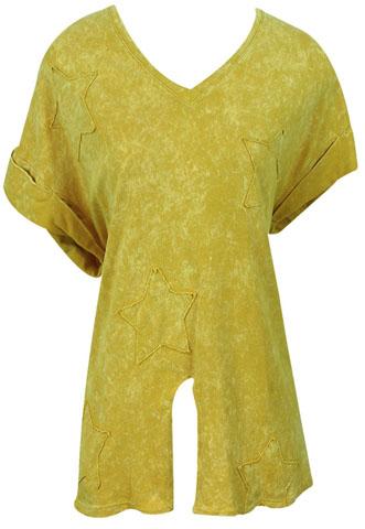 Blusa Norah Estrelas Amarela