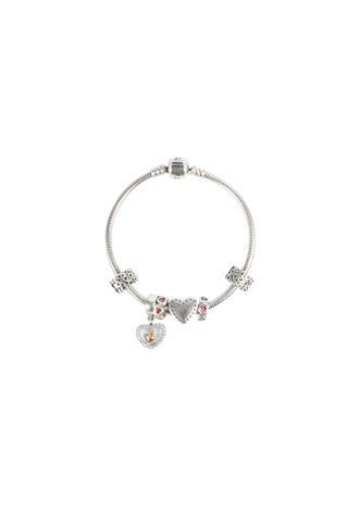 Bracelete Pandora Prata de Lei Prata