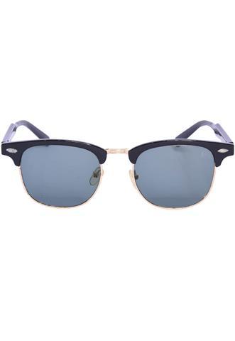 Óculos de Sol Polo Wear Redondo Dourado