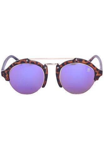 Óculos de Sol Polo Wear Tartaruga Marrom