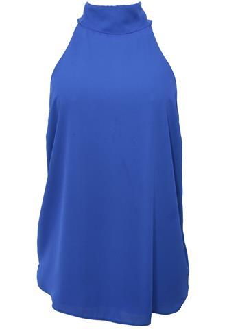 Blusa Polo Wear Lisa Azul