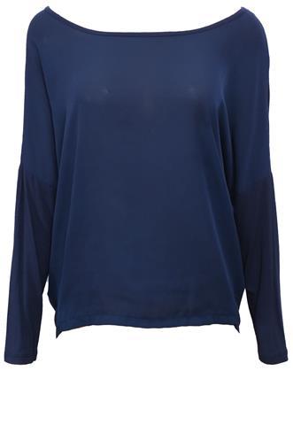 Blusa Polo Wear Mullet Azul