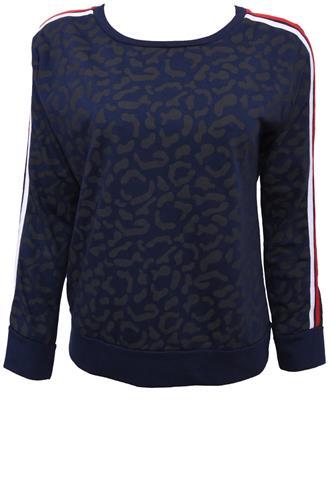 Blusa Polo Wear Listras Azul