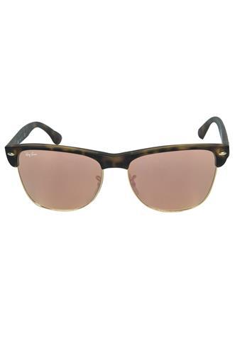 Óculos de Sol Ray Ban Espelhado Marrom/Rosa