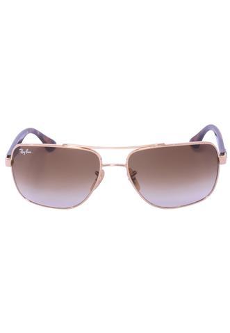 Óculos de Sol Ray-Ban Quadrado Marrom