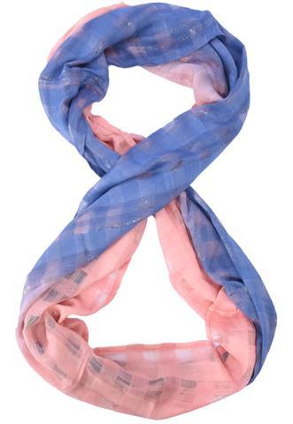 Gola Sem Marca Degradê Rosa/Azul