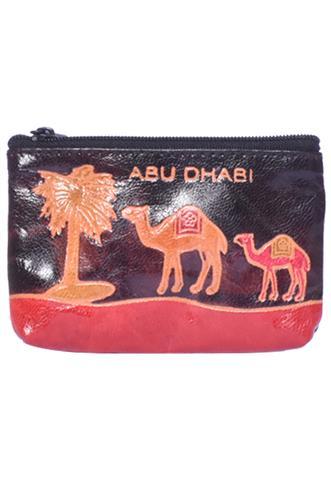Porta Moeda Dubai Preto/Vermelho