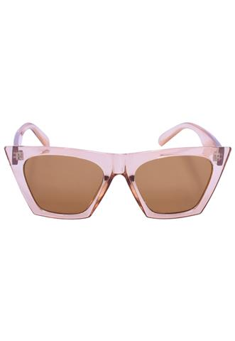 Óculos de Sol  Transparente Marrom