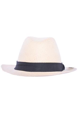 Chapéu Panamá Bege/Preto