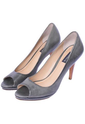 Peep Toe Shoestock Azul